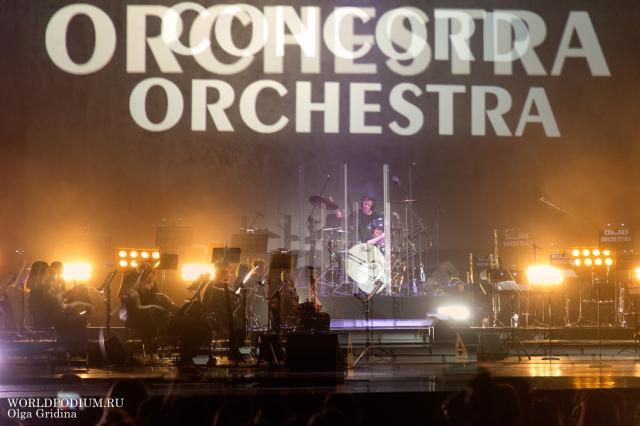 Симфонические рок-хиты потрясли Кремлевский Дворец