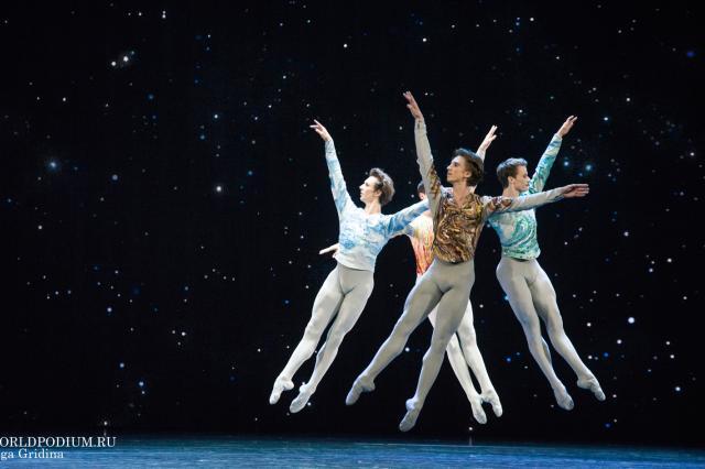Kremlin Gala «Звезды балета XXI века». «Variations for four»