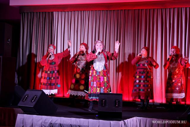 «Бурановские бабушки» с программой «Мне снова 18!» выступили в Кремлевском Дворце (часть 1)