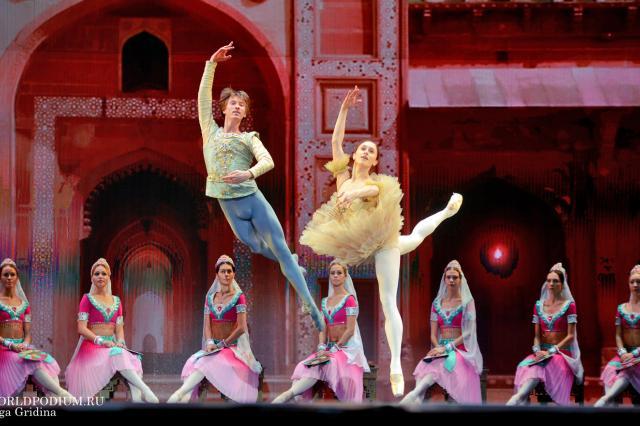 Kremlin Gala «Звезды балета XXI века». «Баядерка»