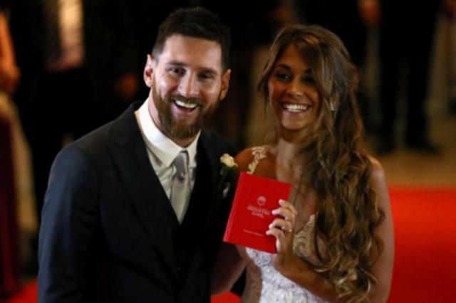 Лионель Месси женился на подруге