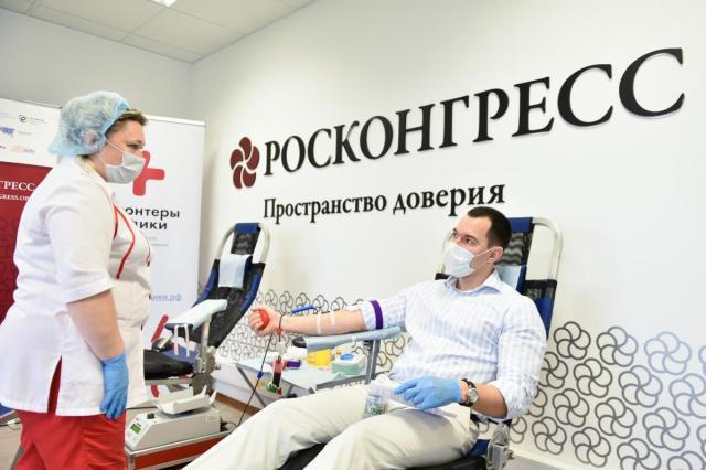 Деятели искусства откликнулись на Всероссийскую донорскую акцию