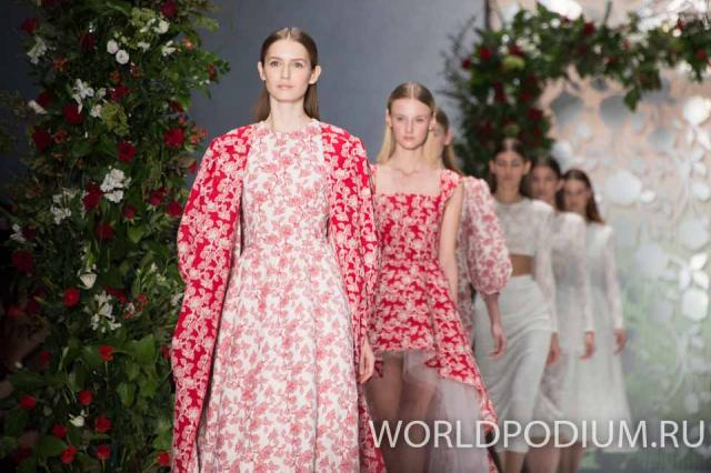 Модный дом Yulia Prokhorova Beloe Zoloto представил новую коллекцию на Mercedes-Benz Fashion Week