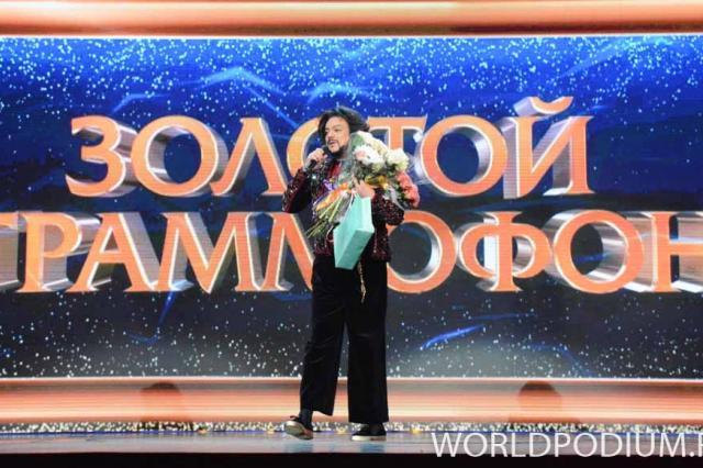 Впервые «Золотой граммофон» прошел в «Олимпийском»!