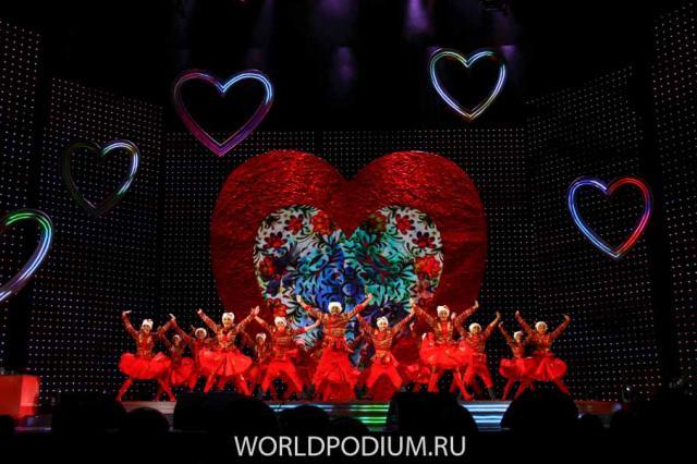 Самый романтичный концерт года на сцене Государственного Кремлёвского Дворца!