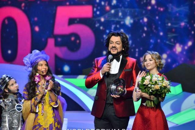 III церемония вручении детской музыкальной Премии «Kinder МУЗ Awards»