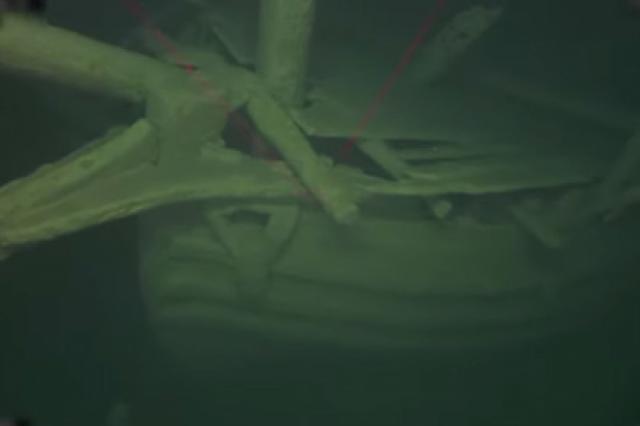 Найден таинственный древний корабль
