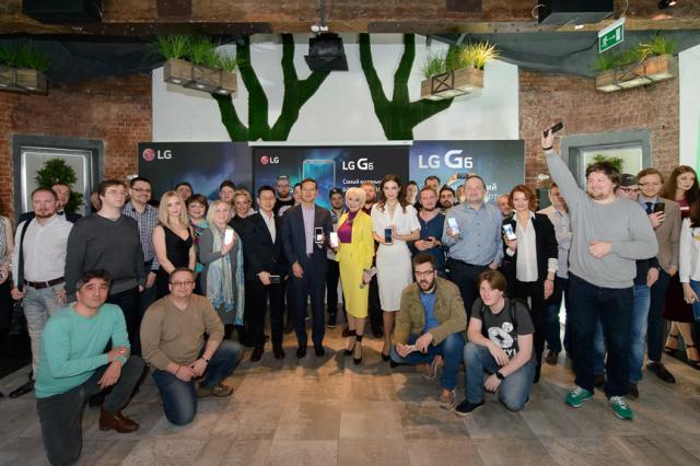 Флагманский смартфон компании LG Electronics — LG G6 представлен в Москве