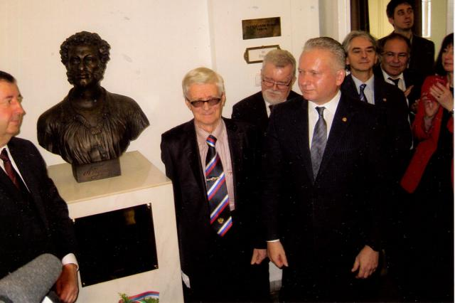 В Будапеште открыт скульптурный бюст Пушкина
