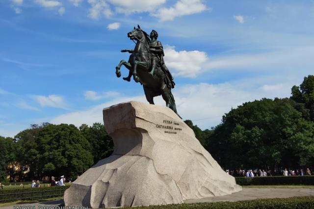 В Санкт-Петербурге пройдёт мероприятие в честь 350-летия со дня рождения Петра I