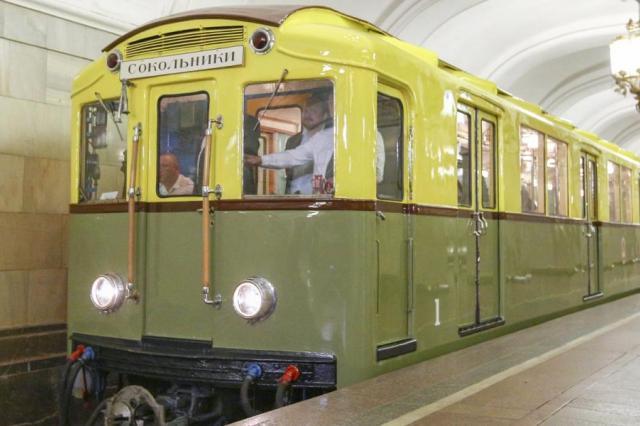 «От Сокольников до Парка на метро»: Московское Метро отмечает 85-летие!