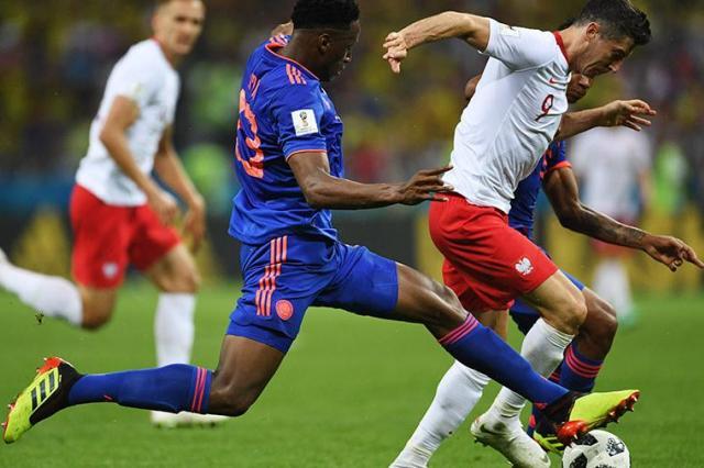 Сборная Польши проиграла колумбийцам со счетом 0:3