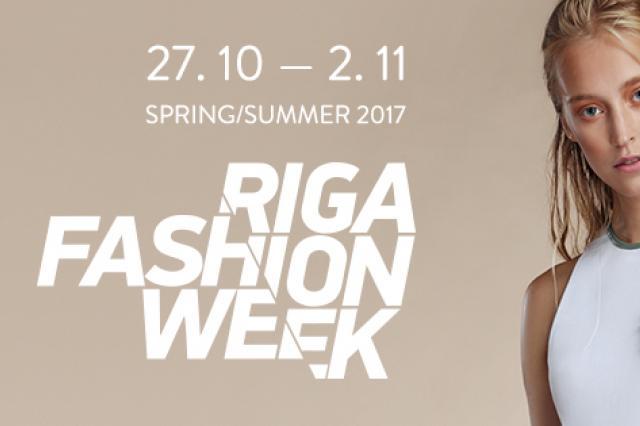 RIGA FASHION WEEK пройдёт с 27 октября по 2 ноября