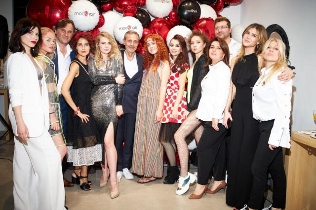 Сеть всемирно известных салонов красоты Mod's Hair открыл в Москве первый флагманский салон!