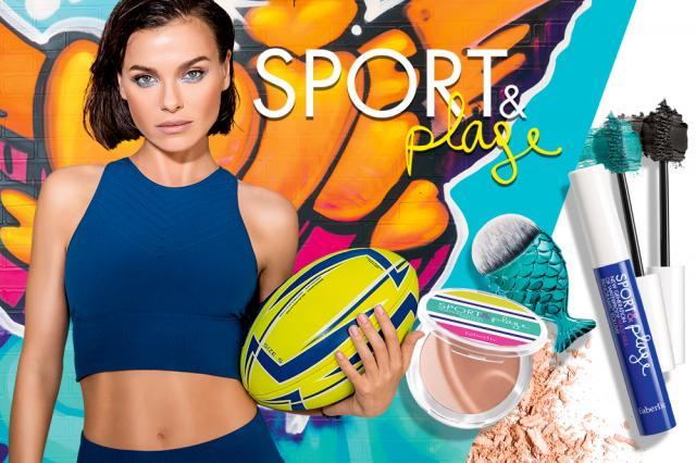 Новая линия макияжа Sport&Plage от Faberlic