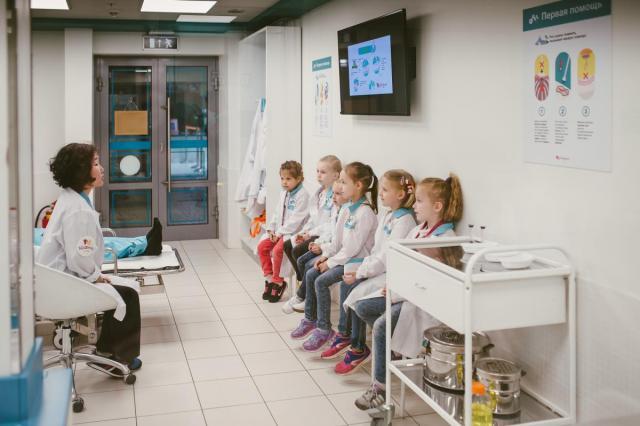 В апреле Московская Кидзания проведет Марафон здоровья