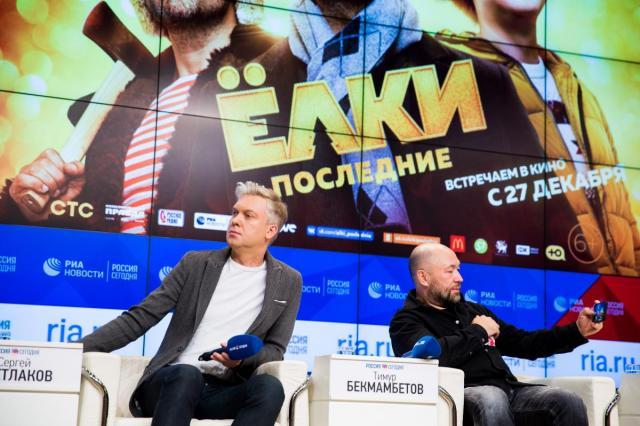 Тимур Бекмамбетов и команда фильма «Ёлки последние» объявили о создании телеканала «Ёлки.Тв»