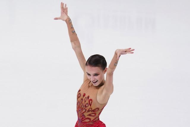 Анна Щербакова стала  двукратной чемпионкой России по фигурному катанию