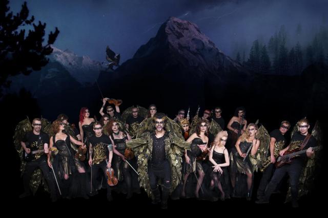 Премьера мистического шоу танцующего CONCORD ORCHESTRA