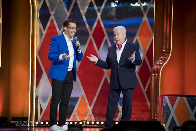 Юбилейный вечер, посвященный 70-летию народного артиста России Владимира Винокура, сегодня на канале Россия 1