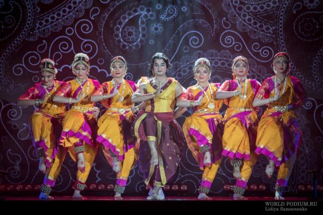 Торжественная церемония открытия фестиваля Индии в Кремле