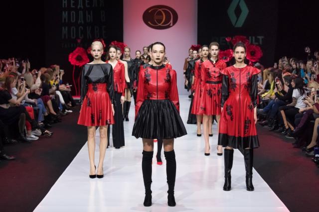 Элеонора Амосова представила коллекцию «LADY» в рамках Недели моды в Москве