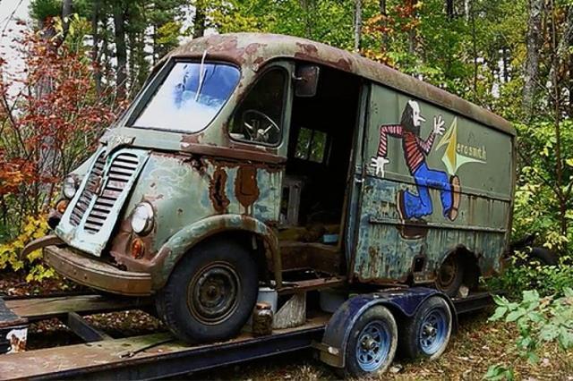 В лесу найден гастрольный фургон группы Aerosmith