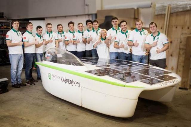«Лаборатория Касперского» поможет разработать российский солнцемобиль