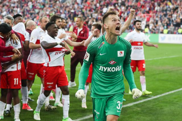 «Спартак» впервые с 2001 года стал чемпионом России по футболу