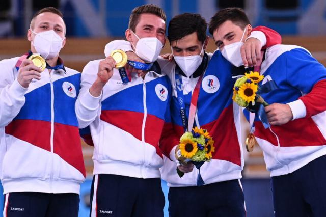 Исторический триумф российских гимнастов в командном многоборье на Олимпиаде в Токио!