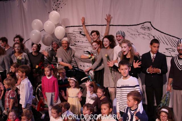 Спектакль «СтихоВаренье»! Два поколения звезд на одной сцене – в помощь детям!