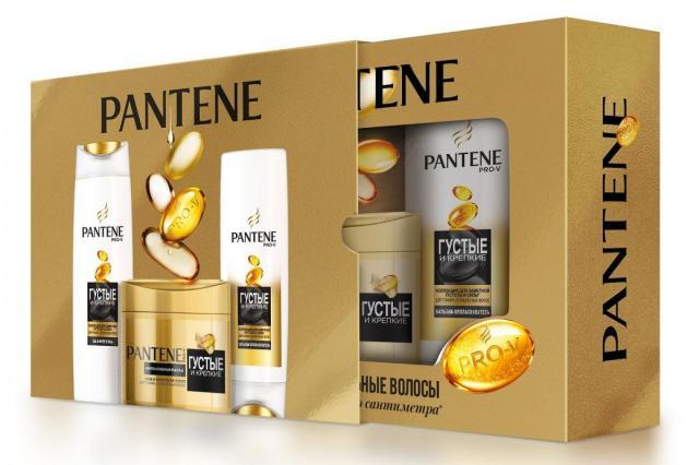 Подарочный набор Pantene Pro-V Густые и крепкие – более сильные волосы до последнего сантиметра!