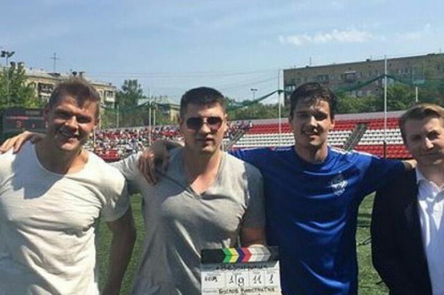 «Везунчики»: Яглыч, Жвакин и Хилькевич на съемках нового сериала