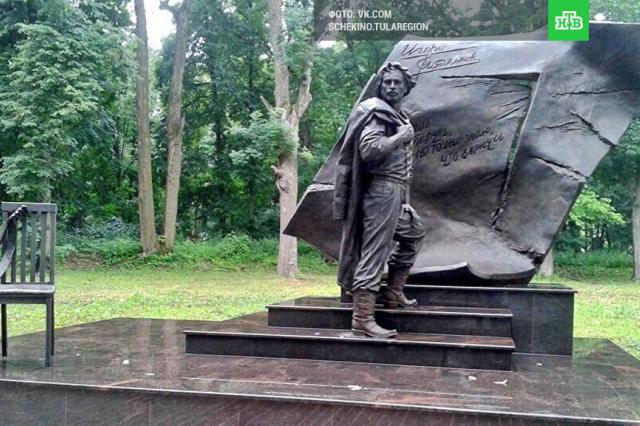 Памятник Игорю Талькову открыли на его малой родине