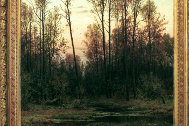 Картина Шишкина в музее Подмосковья 94 года выставлялась под неверным названием