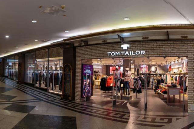 Tom Tailor открыл первый магазин в новой концепции