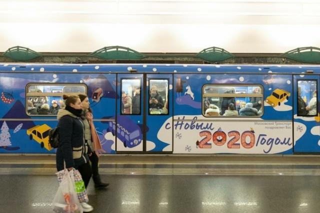 Пассажиры столичного метро смогут сделать 3D-снимки в «ледяных пещерах»
