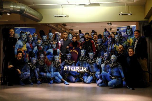 Российская премьера «ТОРУК – Первый полет», шоу Cirque du Soleil® по мотивам фильма Джеймса Кэмерона «АВАТАР»