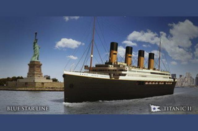 Новый «Титаник» отправится в плавание через два года