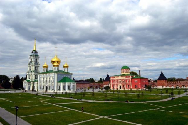Тульский Кремль стал площадкой «Ночи кино»