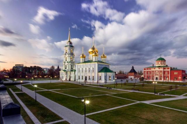 Новый музейный квартал создан в Туле к празднованию 500-летия Тульского кремля