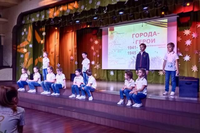 К 75-летию Победы в «Домисольке» проводят «Уроки мужества»