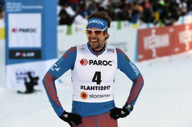 Российские лыжники Устюгов и Крюков победили в командном спринте на ЧМ в Лахти