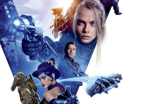 Финальный постер фильма «Валериан и город тысячи планет» Люка Бессона