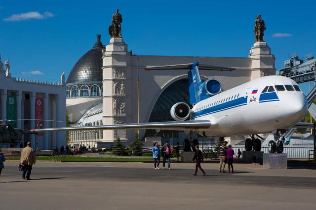Возрождение легендарного самолета Як-42 на ВДНХ