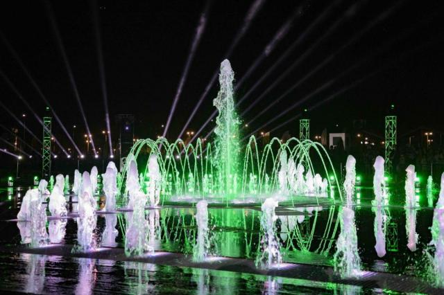 Во Владивостоке откроют светомузыкальный фонтан