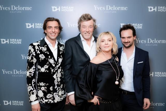 Всегда благоприятная «Погода в доме» - открытие салона Yves Delorme Couture в Dream House