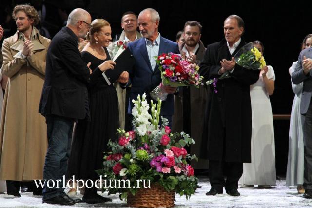 Театр имени Евгения Вахтангова готовится к открытию 99-ого сезона