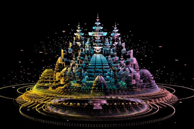 Иммерсивная выставка Mystic Universe Мистическое путешествие сквозь вселенные