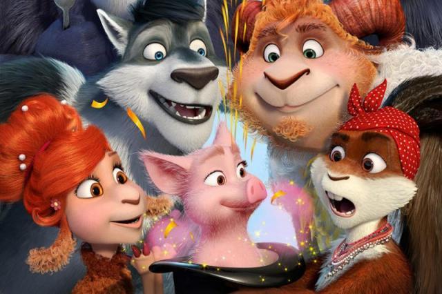 """Анимационный фильм """"Волки и овцы: ход свиньей"""" представлен на итальянскую премию"""